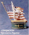 Click here to enlarge image and see more about item HM31: '96 QHC820-4 ATLANTA OLYMPICS GYMNASTICS FIGURE Centennial Spirit Collection Hallmark