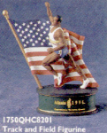 Click here to enlarge image and see more about item HM34: HALLMARK ATLANTA OLYMPICS Centennial TRACK & FIELD FIGURE 96 QHC820-1 Spirit Collecti