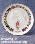 Click here to enlarge image and see more about item HM45: QHC8194 Olympic Atlanta '96 Parade Nations Pl