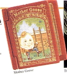 Click here to enlarge image and see more about item HM59: 1993 QX528-2 Mother Goose #1 Humpty-Dumpty First : Series Mother Goose NURSERY RHYMES
