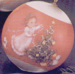Click here to enlarge image and see more about item HM7: SATIN BALL 1978-QX216-3 GRANDDAUGHTER