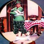 Click to view larger image of The Golfer  Honeymooners Classic TV Shows Gleason Kramden Carney Norton Art: D.Kilmer (Image1)