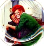 Click to view larger image of THE BIG SQUEEZE - I LOVE LUCY TV SHOW - Artist J. Kritz 50's 60's nostalgia (Image1)