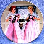 Click to view larger image of 1990 I LOVE LUCY 2 OF A KIND HAMILTON PLATE (Image2)