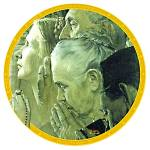 Freedom of Worship Norman Rockwell February '43 Saturday Evening Post ecumenical pray