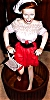 Click to view larger image of I Love LUCY GOES ITALIAN Soaking Up Local Color Stomping Grape Ashton Drake Porc Doll (Image2)
