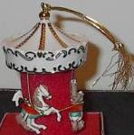 Click to view larger image of LENOX Porcelain HOLIDAY 3 Horse CAROUSEL ORNAMENT # 6092076 Undated Horses Christmas (Image6)