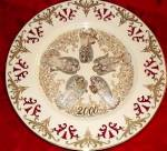 Click here to enlarge image and see more about item LENOX56: Lenox 2000 Messengers of Harmony Millennium Angel Limited Edition Collector Plate NIB