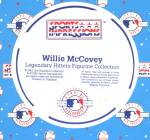Click to view larger image of WILLIE MCCOVEY Hamilton SI Sports Impressions Legendary Hitters 500 MLB MIB SF Giants (Image4)
