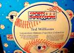 Click to view larger image of TED WILLIAMS Hamilton SI Sports Impressions Legendary Hitters 500 MLB Boston Red Sox (Image4)