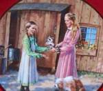 Click to view larger image of MARY'S GIFT LITTLE HOUSE ON THE PRAIRIE Michael Landon 70s Christopherson #5 raccoon (Image1)