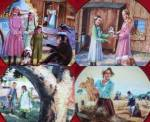 Click to view larger image of MARY'S GIFT LITTLE HOUSE ON THE PRAIRIE Michael Landon 70s Christopherson #5 raccoon (Image5)