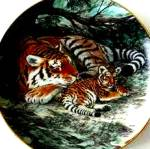 Click here to enlarge image and see more about item LK8: Siberian Tiger Last of Their Kind The Endangered Species W. Nelson BradEx 84-G20-15.8