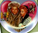Click to view larger image of I Love Lucy Meets The TV Stars RED SKELTON  Plate Collection Artist Morgan Weistling (Image1)
