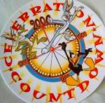 Click here to enlarge image and see more about item LOONEY2: Wedgwood Looney Tunes Celebration Countdown Millennium Wile E.Coyote Daffy Duck Bugs