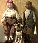 Click to view larger image of SPANKY ARBOR DAY Doll Little Rascals S.J. Hoffman NRFB #23159 1997 Porcelain Our Gang (Image3)