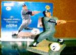 Click here to enlarge image and see more about item MANTLE1: Mickey Mantle SWITCH HITTER CONNECTS Hamilton SI Sports Impressions Figurine MLB 1996