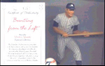 Click here to enlarge image and see more about item MANTLE2: Mickey Mantle BUNTING FROM THE LEFT Hamilton SI Sports Impression Series MLB NUMBER 7