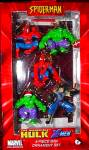 Click here to enlarge image and see more about item MARVEL20: SPIDER-MAN X-MEN WOLVERINE HULK 5 piece Mini Ornie Set ZTR1801 Kurt S Adler MARVEL 03