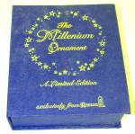 Click to view larger image of 1992 Roman Millenium #1 Silent Night Ornament MIB Lucchesi Mary Jean Dorcy Silhouette (Image7)