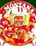 Click to view larger image of #1 JOE MONTANA 40,000 YARDS : SAN FRANCISCO 49ers NFL Artist R. Tanenbaum 1751CA (Image1)