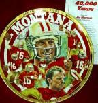 Click to view larger image of #1 JOE MONTANA 40,000 YARDS : SAN FRANCISCO 49ers NFL Artist R. Tanenbaum 1751CA (Image2)