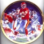 Click to view larger image of Kansas City Chiefs Joe Montana Comeback Kid Joseph Andrew Catalano NFL Hamilton (Image1)