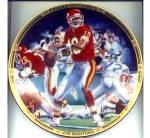 Click to view larger image of Kansas City Chiefs Joe Montana Comeback Kid Joseph Andrew Catalano NFL Hamilton (Image2)
