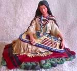 Click to view larger image of SACAJAWEA Noble American Indian Women Artist David Wright Figur Hamilton Collect 1993 (Image3)