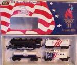 Click to view larger image of Dale EARNHARDT 1996 OLYMPICS Atlanta 4 PC. REVELL TRAIN SET Nascar #3113 3 Goodwrench (Image2)