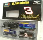 Click to view larger image of Dale Revell Collection 4 Pc. TRAIN SET EARNHARDT '96 WRANGLER THRU YEARS 1st EDITION (Image2)