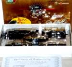 Click to view larger image of Dale EARNHARDT 1996 LIMITED EDITION 3 BASS PRO SHOP 7 PC TRAIN 5004 Revell NASCAR COA (Image4)