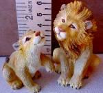 Click to view larger image of LIONS LION - Noahs Noah's Endearing Mates Pair set E. Elfie Harris (Image2)