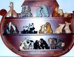 Click to view larger image of LIONS LION - Noahs Noah's Endearing Mates Pair set E. Elfie Harris (Image4)