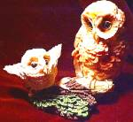 Click to view larger image of NESTING INSTINCTS OWLS : LEARNING TO FLY MOM (Image1)
