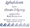 Click to view larger image of Splashdown OCEAN ODYSSEY Series Sculpture Artist WALT YOUNGSTROM Orca Killer Whale (Image2)