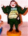 Click to view larger image of Munchkinland Mayor Wizard Oz Hamilton Presents Pvc Figure Figurine Ornament MGM Loews (Image1)