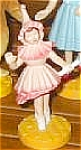 Click to view larger image of Ballerina Girl Wizard Oz Hamilton Presents Pvc Figure Figurines Ornament MGM Loews 88 (Image1)