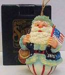 Click here to enlarge image and see more about item ROMAN15: 1870 American Santas Thru Decades Galleria Lucchese ROLY POLY ROLLY POLLY 66907 Roman