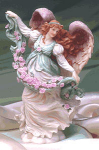 Click here to enlarge image and see more about item SA25: DAWN SUNSHINE'S GUARDIAN SPECIAL EVENT '96 Angel Seraphim Classics Roman Ltd.Figurine