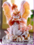 Click here to enlarge image and see more about item SA7: TESS TENDER ONE #1 CLUB MEMBER ONLY RETIRED SERAPHIM CLASSIC ANGEL FIGURINE Roman