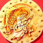 Seraphim Classics® 1 ROSALYN RAREST OF HEAVEN CLASSIC ANGEL PLATE Roman #20117 Closed