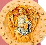 Seraphim Classics® #2 FLORA FLOWER OF HEAVEN RETIRED CLASSIC ANGEL PLATE Roman #20119