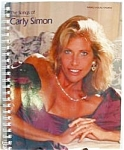 Click here to enlarge image and see more about item SHMU3: 1992 The Songs of Carly Simon 38 You're So Vain Anticipation Piano Vocal Guitar Chord