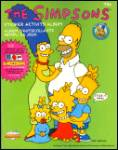 Click here to enlarge image and see more about item SIMPSONS15: Simpsons Sticker Activity Album Diamond 1990 United Kingdom Eire Barts Bargain Bag UK
