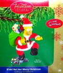 Click to view larger image of Carlton Ornament Talking Homer Simpson D'oh Ho! Ho! Merry Christmas 2004 CXOR-099L Ca (Image4)