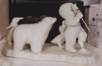 Click here to enlarge image and see more about item SNOWB3: Snowbaby D56 Join The Parade#68241 bear pengu