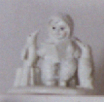 Click here to enlarge image and see more about item SNOWB7: Snowbabies Dept56 #76228 READ ME A STORY Kristi Jensen Pierro Mini D56 Pewter Penguin