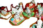 Click to view larger image of 1996 Spot Takes A Ride DALMATION in Red Wagon (Image5)