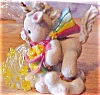 Click to view larger image of Spread Your Joy To The World STARLIGHT STARBRIGHT Unicorn Enesco Flowing Star Shower  (Image2)